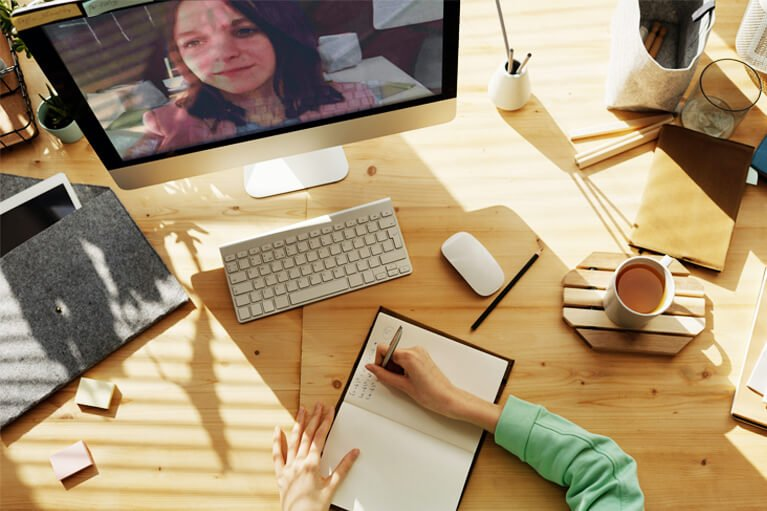 minimize in-person group meetings by having virtual online meetings