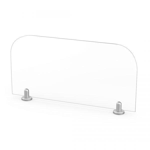 "quarter view 24"" x 12"" cubical extender panel"